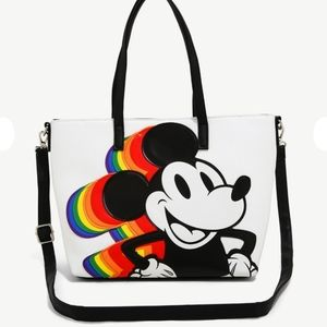 NWT Loungefly Mickey Mouse Satchel